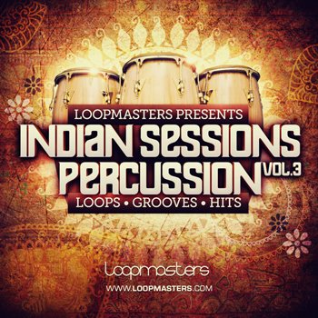Сэмплы Loopmasters Indian Sessions Percussion Vol. 3