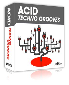 Сэмплы Kick Back Samples - Acid Techno Grooves