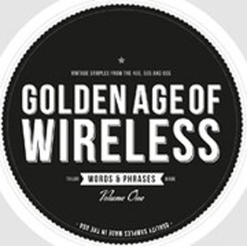 Сэмплы Crate Diggers Golden Age of Wireless - Words & Phrases Vol.1