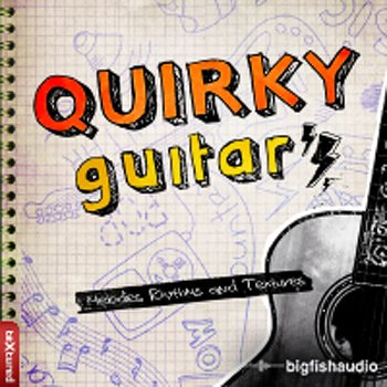Сэмплы Big Fish Audio Quirky Guitars Vol. 1