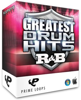 Сэмплы ударных Prime Loops - Greatest Drum Hits R&B