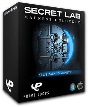 Сэмплы Prime Loops Secret Lab Club Mix Insanity