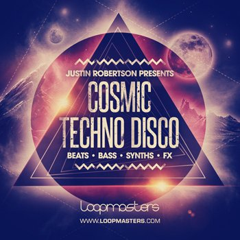 Сэмплы Loopmasters - Justin Robertson Presents Cosmic Techno Disco