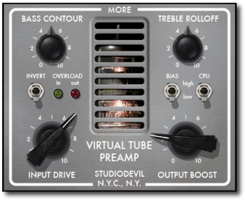 Studio Devil Virtual Tube Preamp v1.0