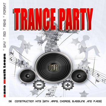 Сэмплы Nano Musik Loops Trance Party Vol.1