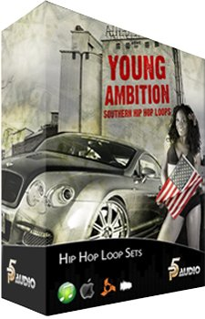 Сэмплы P5 Audio - Young Ambition Southern Hip Hop Loops