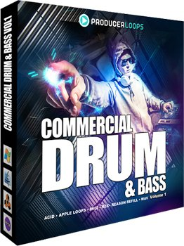 Сэмплы Producer Loops - Commercial Drum & Bass Vol 1