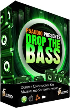 Сэмплы P5Audio Drop the Bass Dubstep Construction Kits