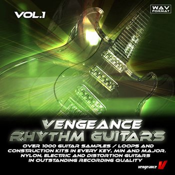 Сэмплы гитары - Vengeance Rhythm Guitars Vol.1