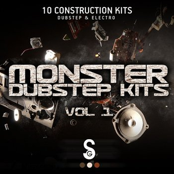 Сэмплы Golden Samples - Monster Dubstep Kits Vol 1