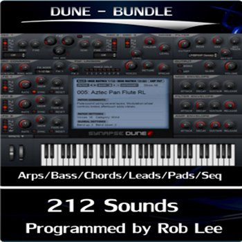 Пресеты Rob Lee Music - Synapse for Dune Bundle
