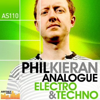 Сэмплы Loopmasters Phil Kieran Analogue Electro and Techno
