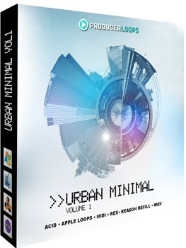 Сэмплы Producer Loops Urban Minimal Vol 1