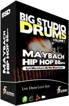 Сэмплы ударных - P5 Audio BSD Maybach Hip Hop 80 Bpm