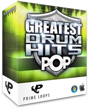 Сэмплы ударных - Prime Loops Greatest Drum Hits Pop