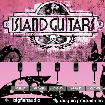 Сэмплы Big Fish Audio - Island Guitars (KONTAKT)