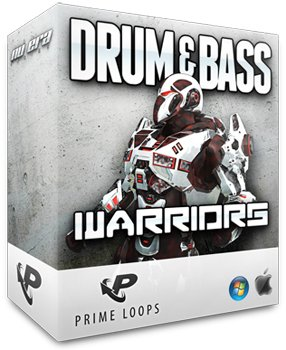 Сэмплы Prime Loops Drum and Bass Warriors