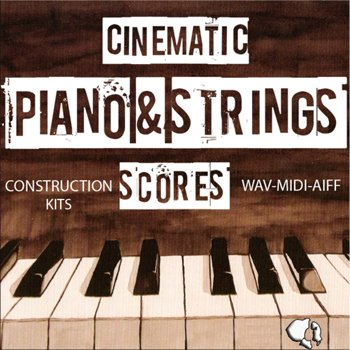 Сэмплы Auditory Cinematic Piano and Strings Scores