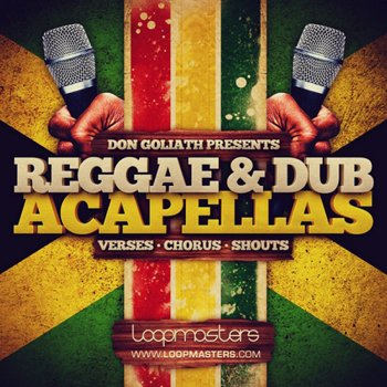 Сэмплы Loopmasters Don Goliath Reggae Dub Acapellas