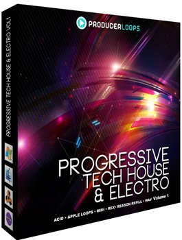 Сэмплы Producer Loops Progressive Tech House and Electro V1