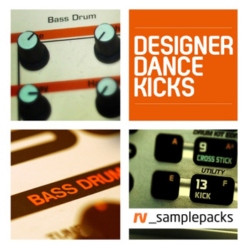 Сэмплы RV_Sample Packs Designer Dance Kicks