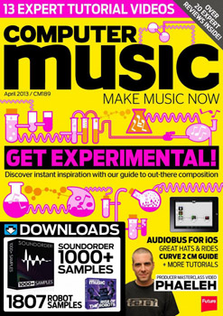 Журнал Computer Music (April 2013) (PDF+DVD)
