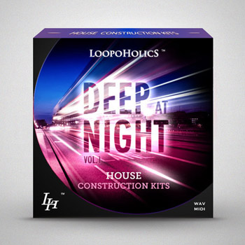 Сэмплы Loopoholics Deep At Night Vol.1 House Construction Kits