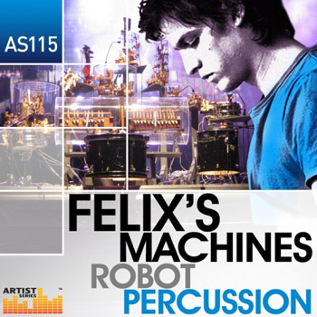 Сэмплы Loopmasters Felixs Machines Robot Percussion