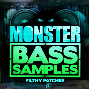 Сэмплы Filthy Patches Monster Bass Samples