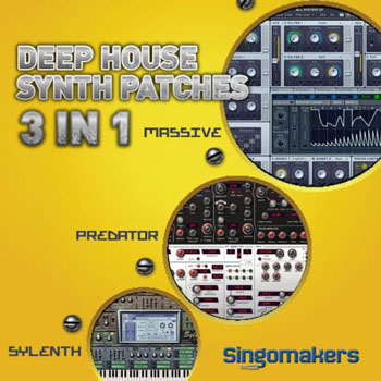 Пресеты Singomakers Deep House Synth Patches 3 in 1