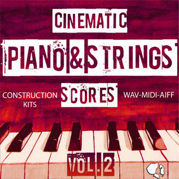 Сэмплы и MIDI - Auditory Cinematic Piano Strings Scores Vol.2