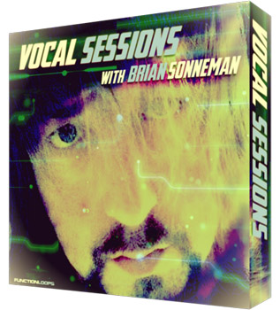 Сэмплы вокала - Function Loops Vocal Sessions With Brian Sonneman