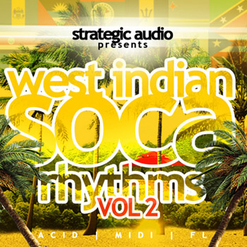 Сэмплы Strategic Audio West Indian Soca Rhythms Vol.2
