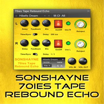 Sonshayne Sounds 70s Tape Rebound Echo VST
