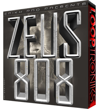 Сэмплы Looptroniks Epikh Pro Presents Zeus 808