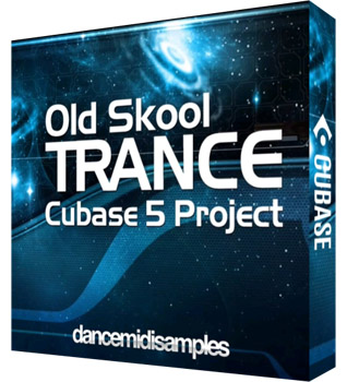 Проект DMS Old Skool Trance Cubase Project