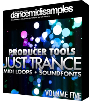 MIDI файлы - DMS Producer Tools Just Trance Vol 5