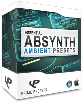 Пресеты Prime Loops Essential Ambient Presets for Absynth