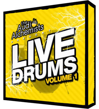 Сэмплы The Audio Alchemists Live Drums Vol 1