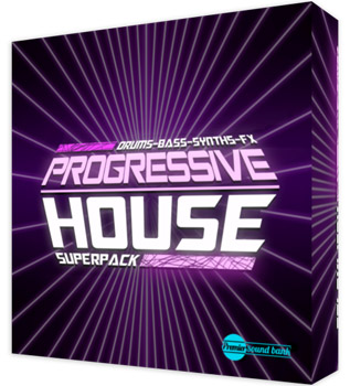 Сэмплы Premier Sound Bank Progressive House Superpack