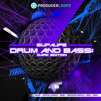 Сэмплы Producer Loops Supalife Drum & Bass Dark Edition