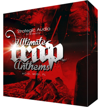 Сэмплы Strategic Audio Ultimate Trap Anthems