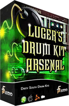 Сэмплы ударных - P5 Audio Lugers Dirty South Drum Kit Arsenal