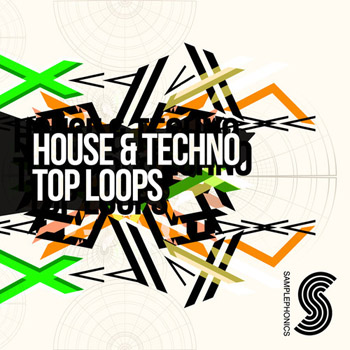 Сэмплы Samplephonics House and Techno Top Loops