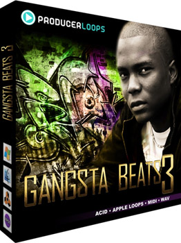Сэмплы Producer Loops Gangsta Beats 3