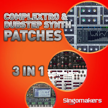 Пресеты Singomakers Complextro and Dubstep Synth Patches 3 in 1