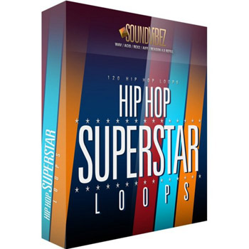 Сэмплы Sound Vibez Hip Hop Superstar Loops