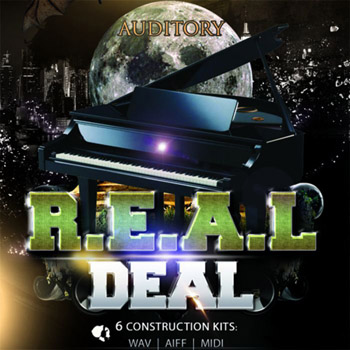 Сэмплы Auditory Piano The Real Deal