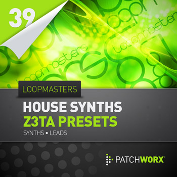 Пресеты Loopmasters Patchworx 39: House Synths
