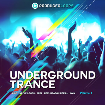 Сэмплы Producer Loops Underground Trance Vol 1
